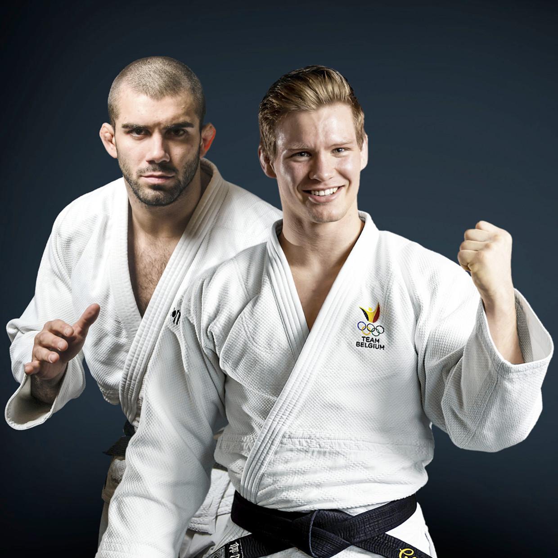 Matthias Casse: 'Ik wéét dat Toma, met zijn 20 kilo meer, sterker is. Maar toch zal ik er op training alles aan doen om hem te kloppen.' Beeld Humo