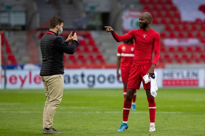 Lamkel Zé besliste Antwerp - Anderlecht.