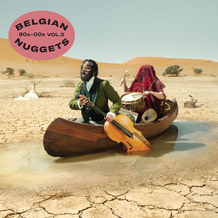 Frieke Janssens' cover voor 'Belgian Nuggets Vol. 2'. Beeld