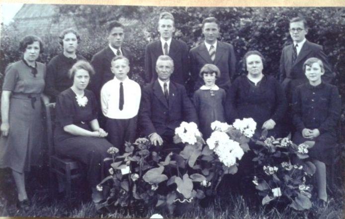 De Schijndelse familie Mathijsen in 1939.