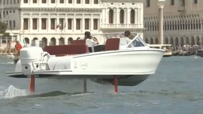"""""""Vliegende"""" boot kan gebouwen in Venetië beschermen"""
