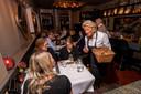 Gerda Ronk van Restaurant Over de tong in Zwolle.
