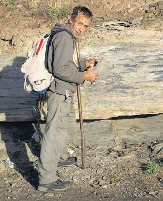 Gids Feliciano Gonzalez, die Kris en Lisanne zou meenemen naar de vulkaan bij Boquete.