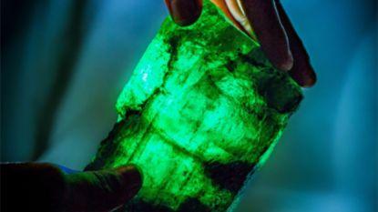 Smaragd van 1,1 kilo gevonden in Zambia