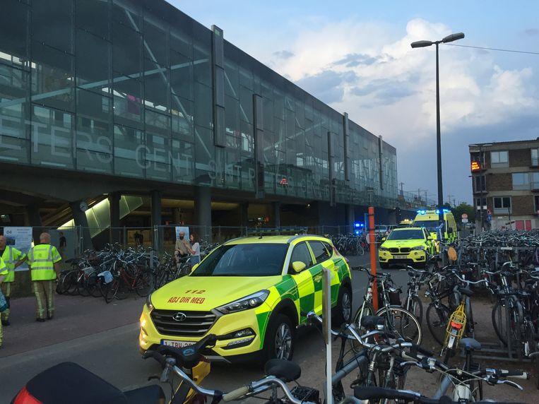Gisteren werd het medisch interventieplan afgekondigd in Gent Sint-Pieters. Ook op andere plaatsen was het treinverkeer zwaar verstoord. Beeld Jeroen Desmecht
