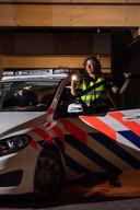 Agente Jacomijn Heupink werd slachtoffer van een 'coronaspuger'.