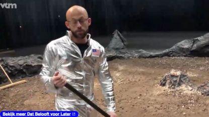 PREVIEW. Staf Coppens kuist nog snel de maan op voor zijn landing