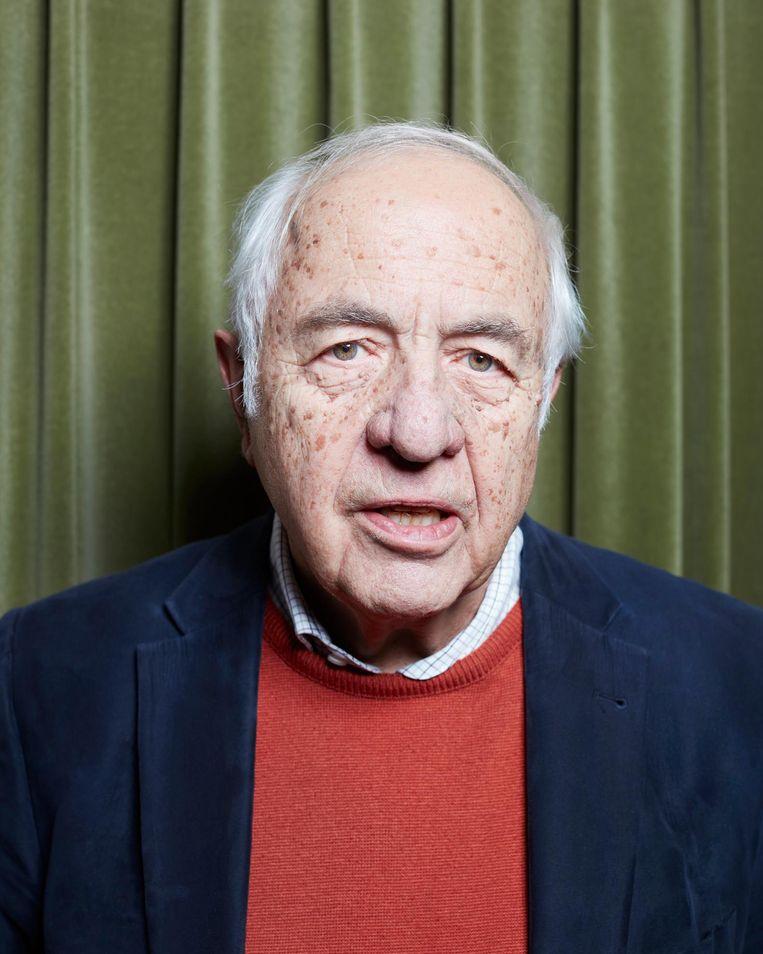 Biograaf Wim Hazeu: 'Ik moest kotsen toen ik die brieven uit 1943 las.' Beeld null