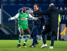 Jarige Musamba bezorgt FC Dordrecht stuntzege tegen NAC: 'We worden elke week beter'