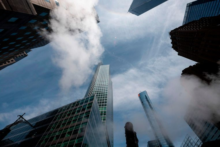 Het hoofdkantoor van Goldman Sachs in New York.  Beeld AFP