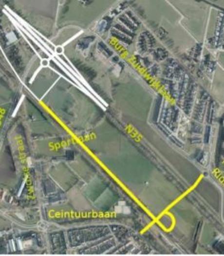 Raalte onderzoekt fietsroute Noord-Ceintuurbaan
