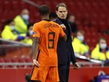 De Boer geniet van Oranje: 'Memphis zat duidelijk goed in zijn vel'