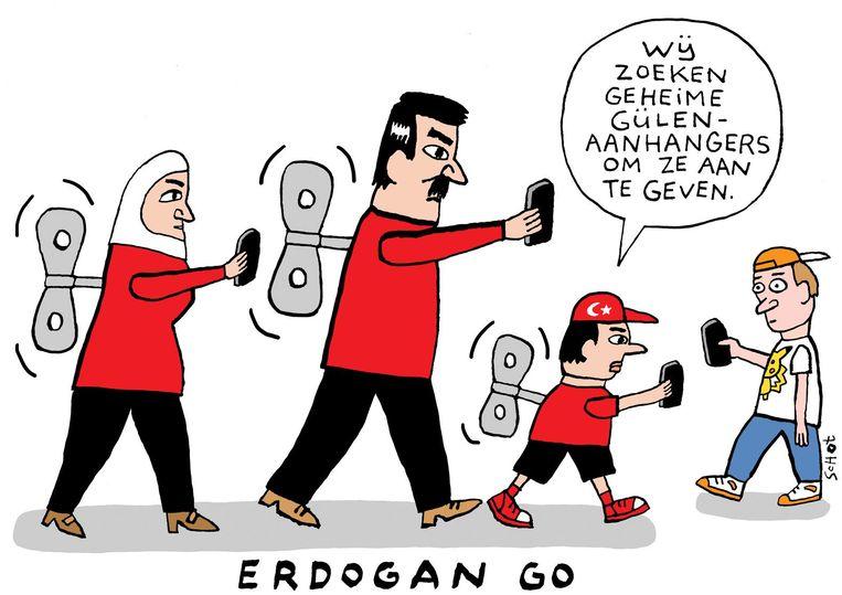 vk-erdogan go turkije gulen Bas van der Schot Beeld Bas van der Schot