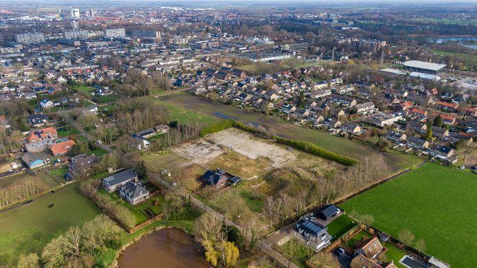 Luchtfoto van Staphorst.