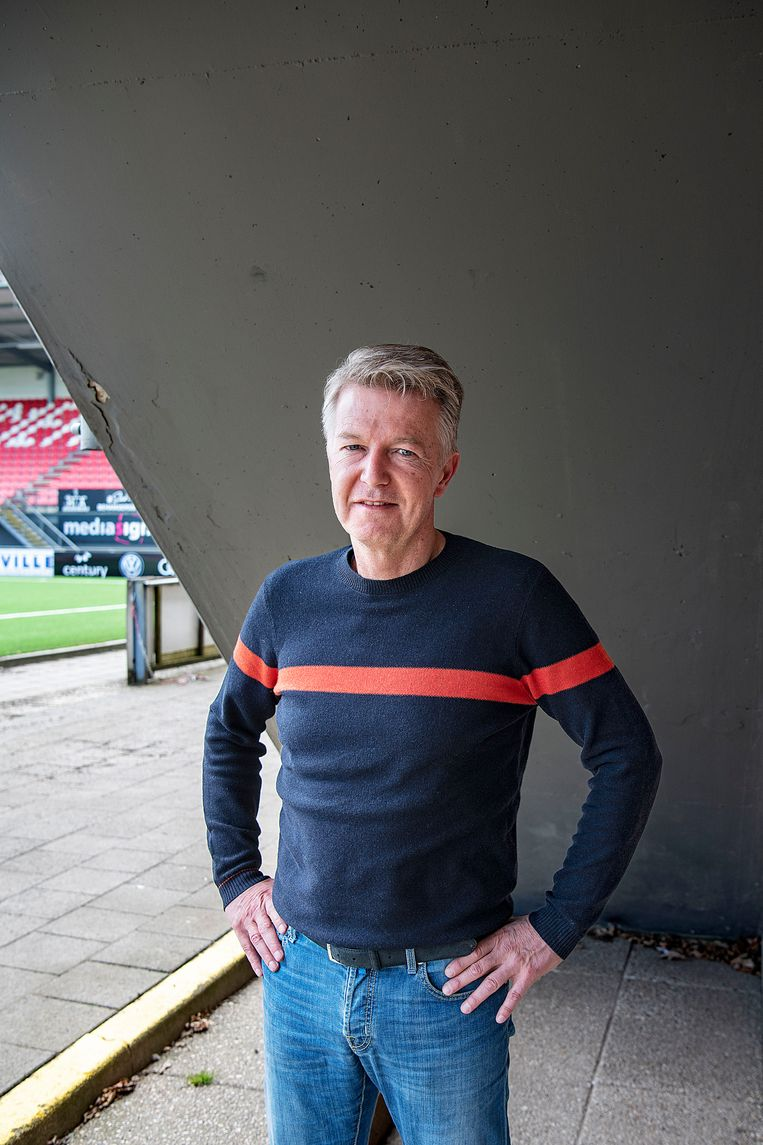 Ronald Lubbers, chairman of FC Emmen: 'It is not a miracle.  The quality was there.  It was only locked. '  Image Guus Dubbelman / de Volkskrant