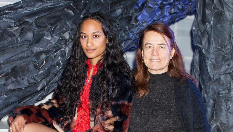 Gale Rama (links) en Moniek Merkx. Beeld Florian Braakman