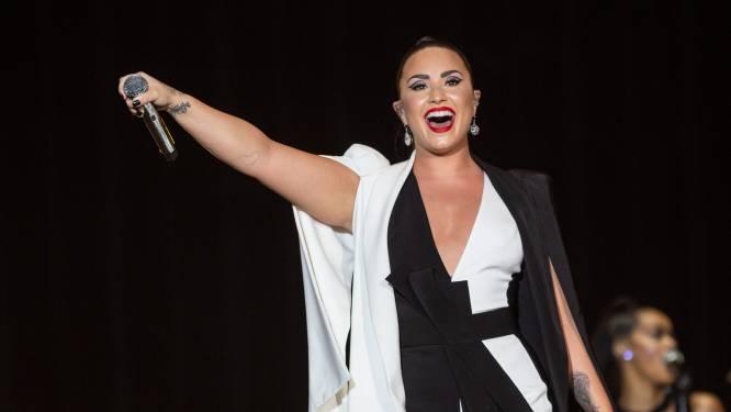 """Demi Lovato vindt cover Davina Michelle geweldig: """"Mag ik dat trucje lenen?"""""""