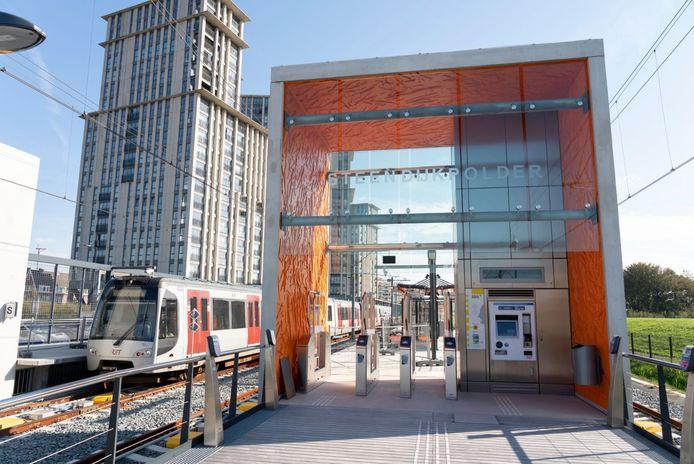 Station Maassluis Steendijkpolder.