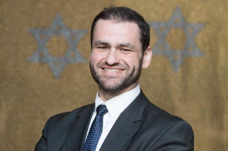 Zsolt Balla, de eerste rabbijn in een eeuw bij de Duitse strijdkrachten. Beeld Hollandse Hoogte / dpa