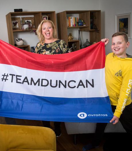 De trotse familie van Duncan: Ik heb geschreeuwd en gehuild