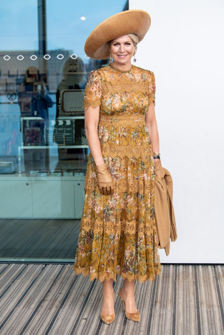 Koningin Máxima bezoekt 75-jarig bestaan Eye Filmmuseum Beeld Brunopress