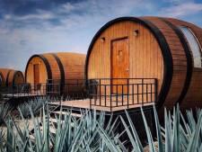 Dormir dans un tonneau de tequila, c'est possible et ça se passe au Mexique