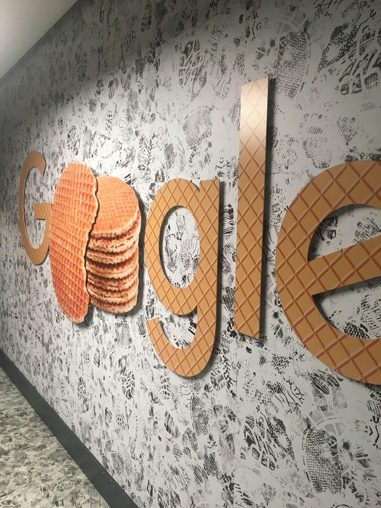 Bij Google thuis. Beeld