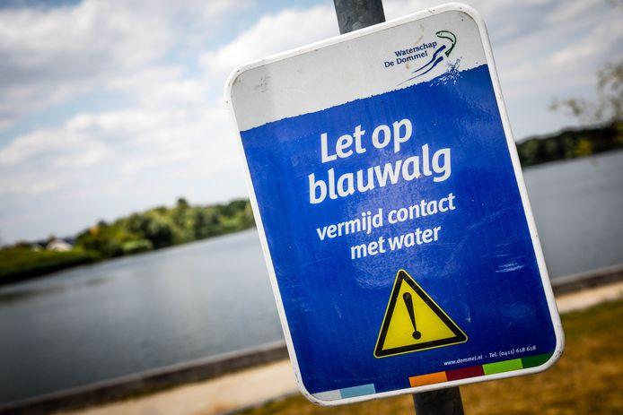 Er geldt voor de zwemplas een negatief zwemadvies.