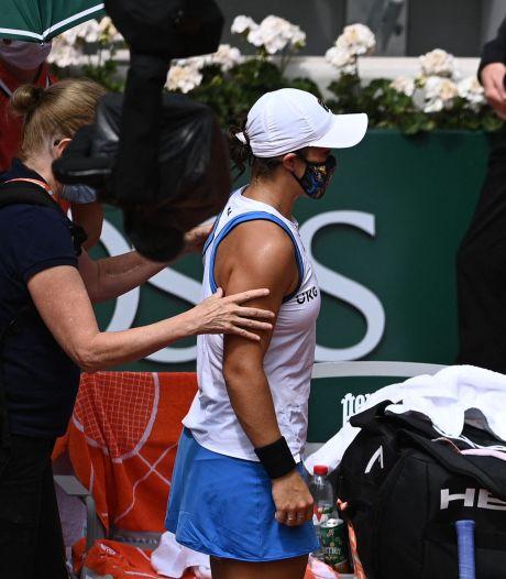 Sensation à Roland-Garros: la N.1 mondiale Ashleigh Barty abandonne au 2e tour