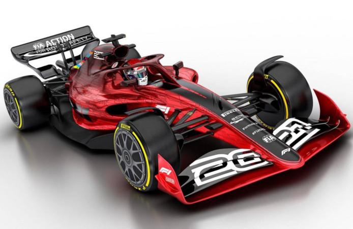 Voici à quoi ressembleront les F1 à partir de 2021.