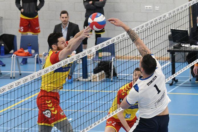 Geen bekerfinale voor Dynamo, althans nu nog niet. Corona trof de Apeldoornse volleybalselectie voor de tweede keer dit seizoen.
