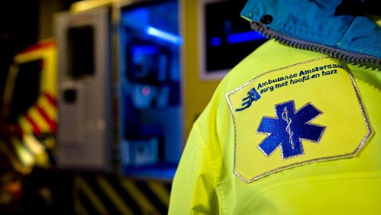 De Ambulancedienst kreeg een waarschuwing omdat er in twee jaar meerdere problemen geconstateerd waren. Beeld anp