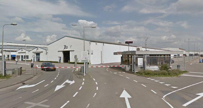 De ingang van onderdelenproducent Voestalpine Automotive Components in Bunschoten.