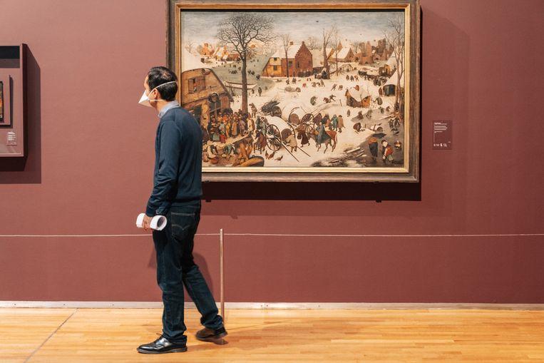 Het Koninklijk Museum voor Schone Kunsten Brussel. Beeld Illias Teirlinck