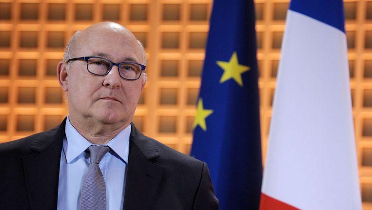 De Franse minister van Financiën, Michel Sapin. Beeld afp