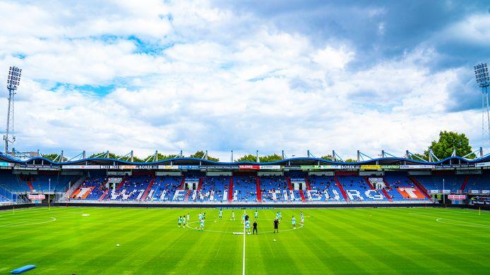 Willem II traint achter gesloten deuren. De oefenwedstrijd tegen IJsselmeervogels gaat niet door.