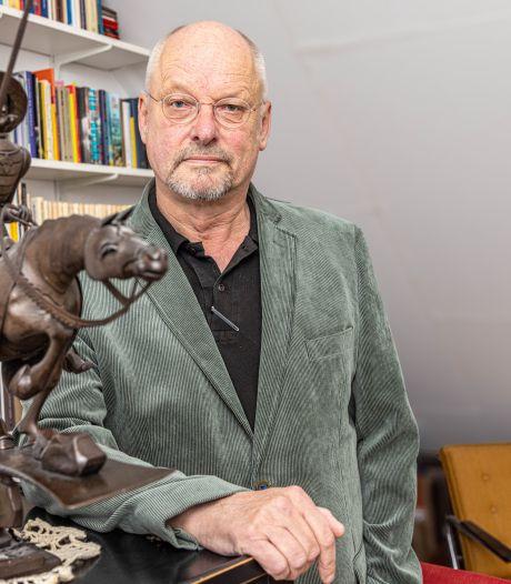 Zwolse schrijver Paul Gellings speelt met fantasie en feiten in familieroman Het smeedwerk van herinnering