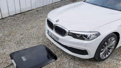 Primeur: BMW is de eerste met draadloos opladen van wagen