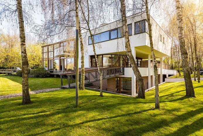 De villa in Maarssen van kledingondernemer Roland Kahn.
