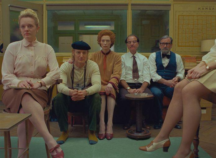 "Le casting incroyable de ""The French Dispatch""."