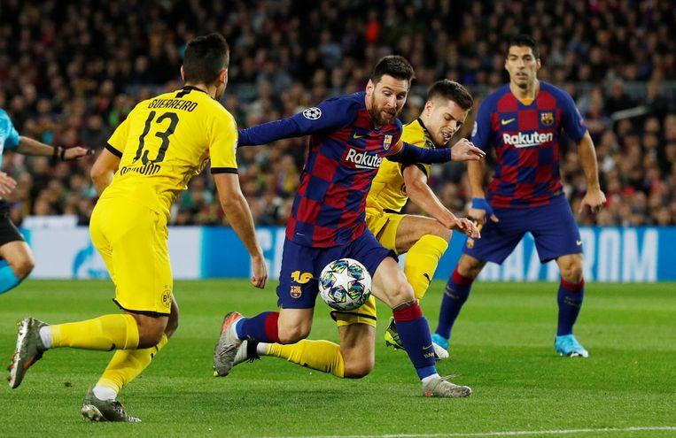In de groep des doods kwalificeerden Barcelona en Dortmund zich ten koste van Inter voor de volgende ronde.