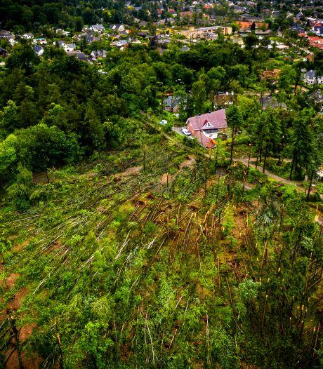 Landgoed Broekhuizen in Leersum weer open na verwoestende valwind