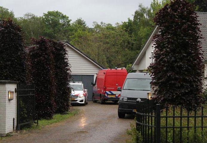 Mogelijk drugslab in Sint-Oedenrode