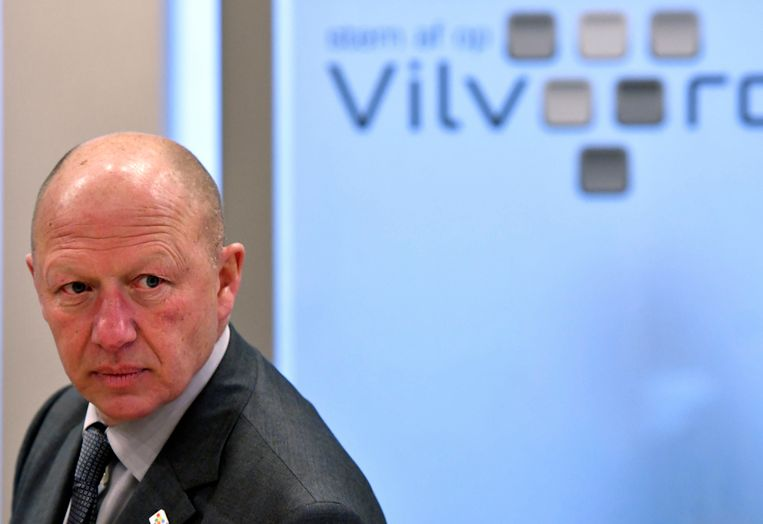 Hans Bonte (sp.a), burgemeester van Vilvoorde.