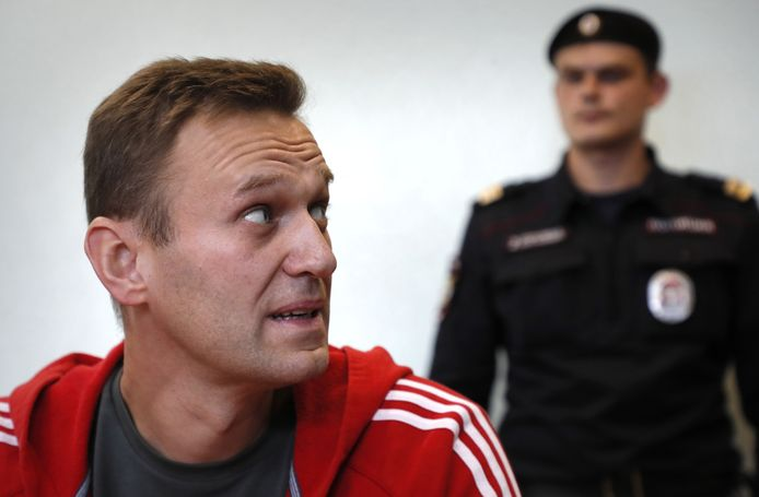 Russisch oppositieleider Alexey Navalny.