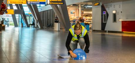 Eindhoven Airport op slot voor bezoekers; mondkapjes verplicht voor alle reizigers in terminal