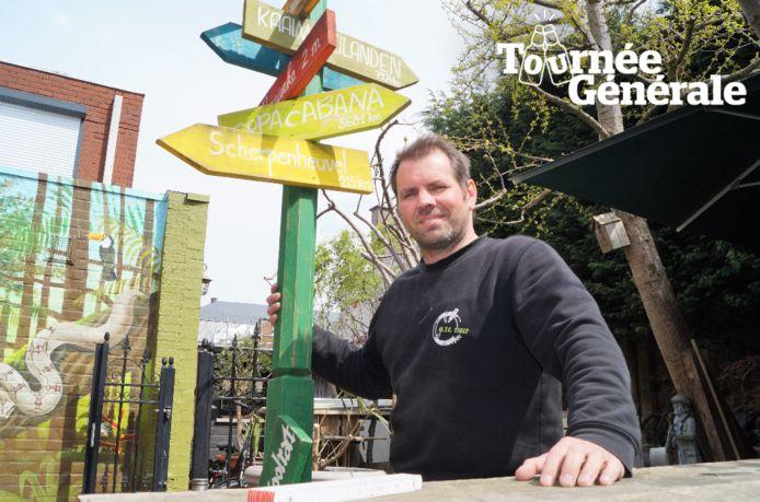 """Johan Baele van 't Pompierke in Tielt kijkt hard uit naar de heropening: """"De mensen terug zien lachen. Dat zal me het meest plezier doen""""."""