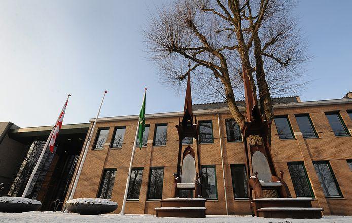 Het gemeentehuis van Sint Anthonis.