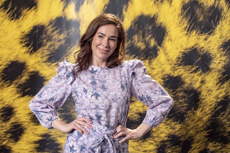 De Nederlandse actrice Halina Reijn Beeld EPA