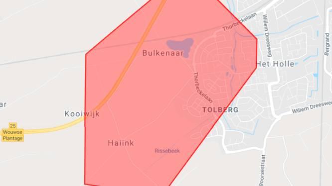 Bijna 1.200 huishoudens tijdelijk geen stroom door stroomstoring in buitengebied Roosendaal